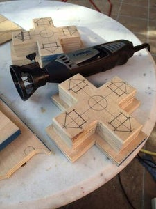 Sanding and Carving
