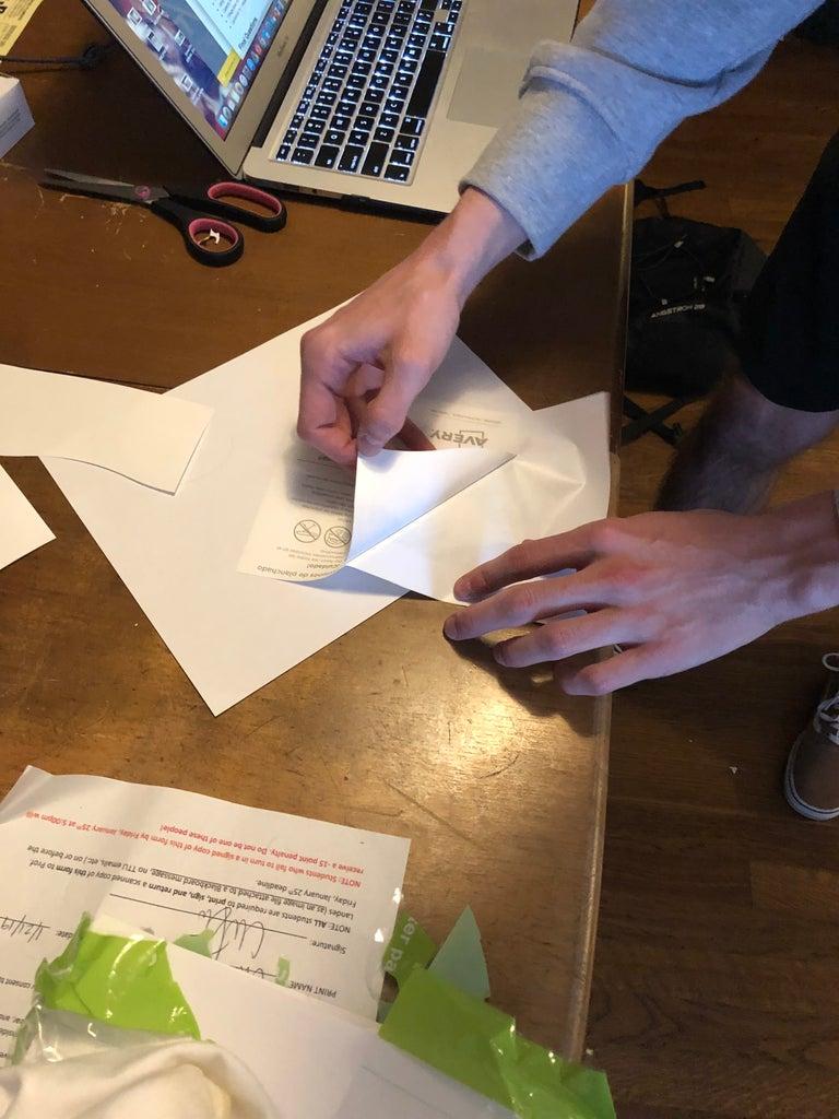 Peeling the Paper