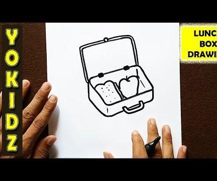HOW TO DRAW LUNCH BOX