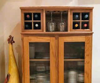 How to Build a Custom Wine & Liquor Cabinet
