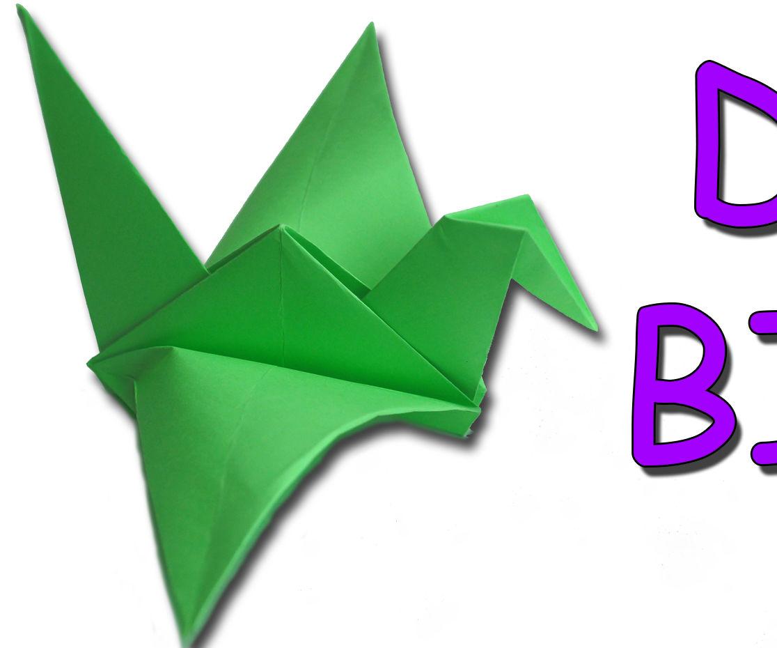 DIY - Origami Traditional Flapping Bird