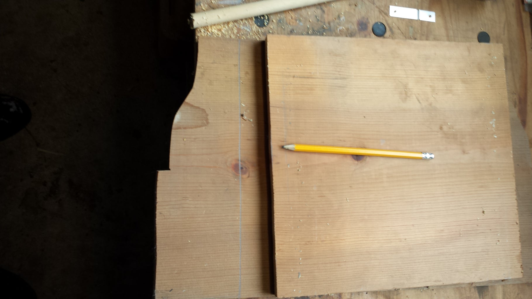 Marking and Cutting the Base and Top