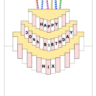Popup Birthday Card