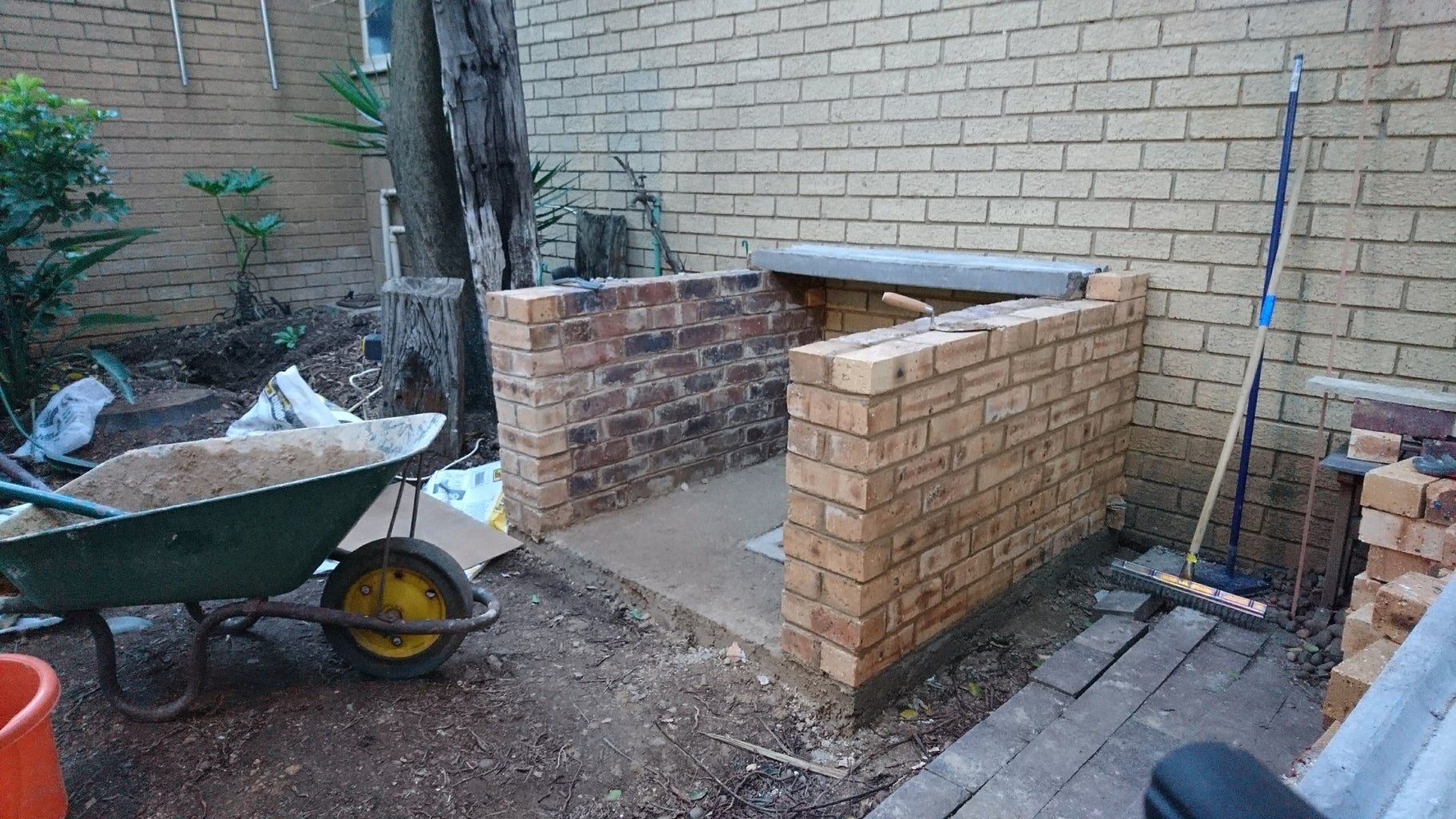 Building Up the Base Walls