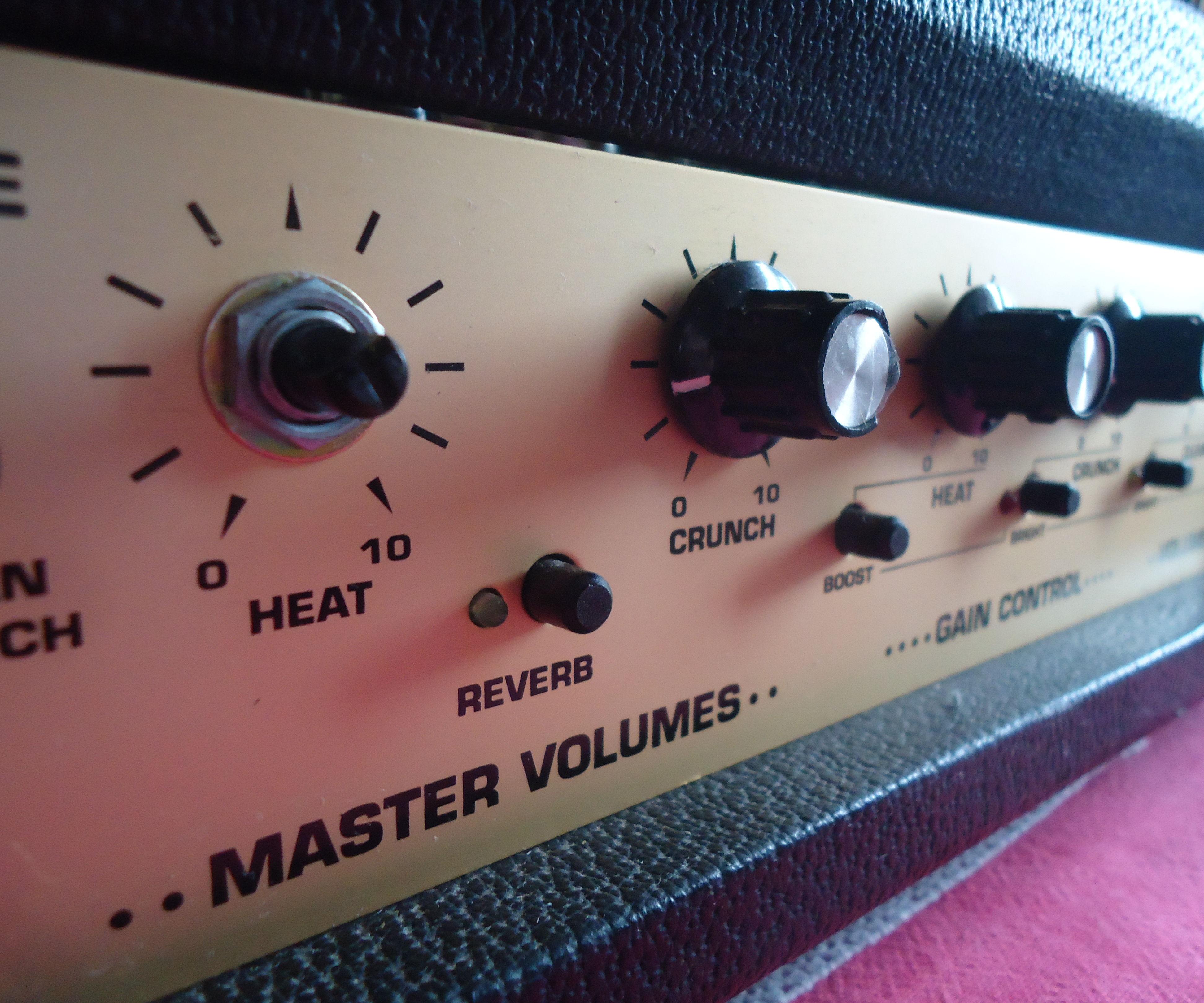 Volume Control Amplifier Knob