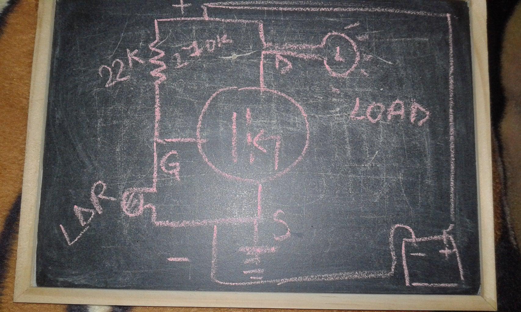 Automatic Night Light Circuit Diagram