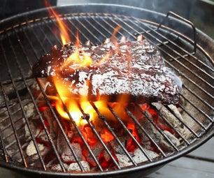 最好的烟熏烧烤猪排