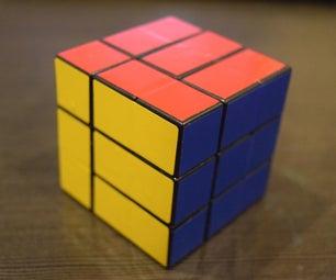 Bandaged Rubik's Cube