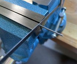 切割金属销的机械模型
