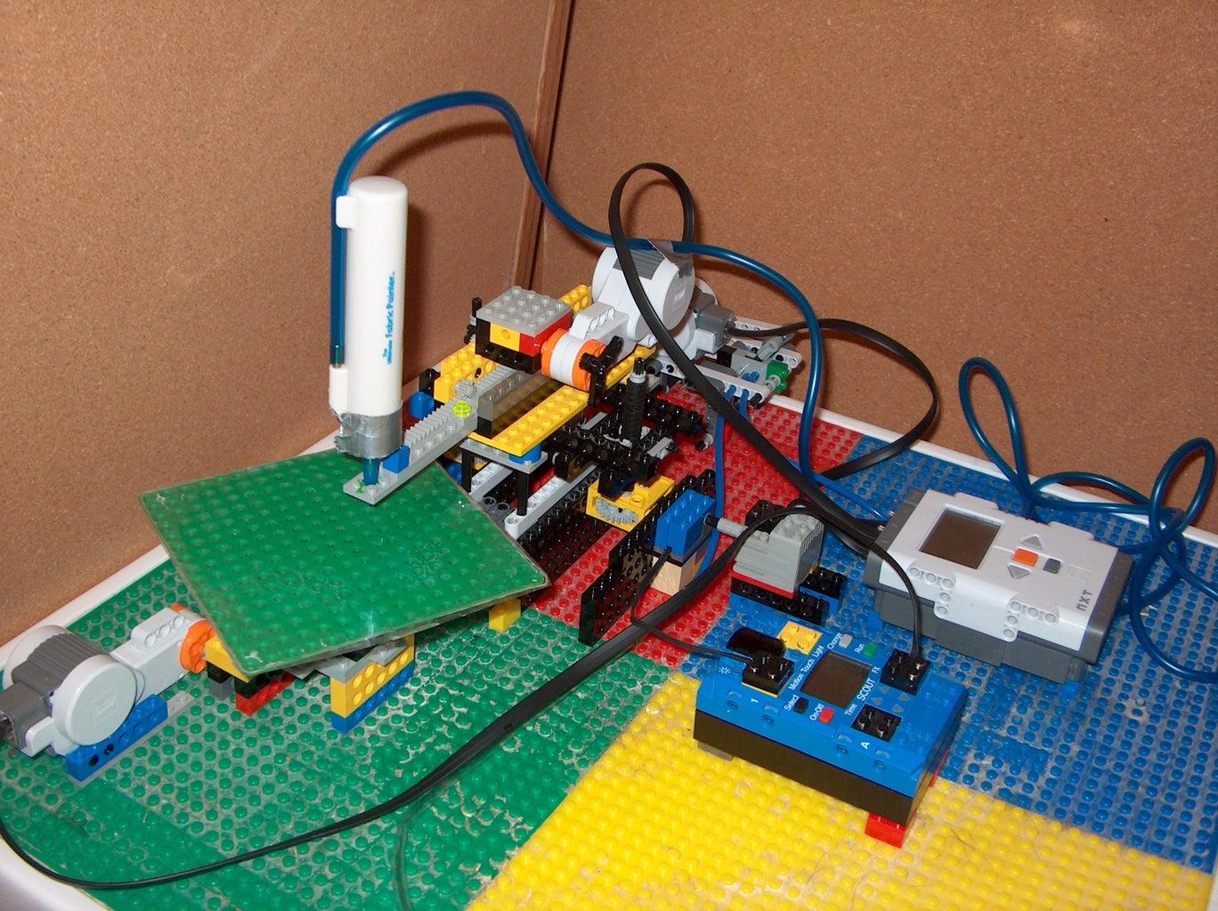 Build a Polar 3-D Printer From Legos