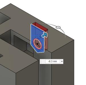 Design Process - Stationary Fixture - Clamp Screw Nut Insert