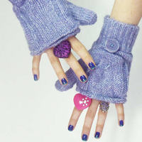 Fingerless Glove Mittens
