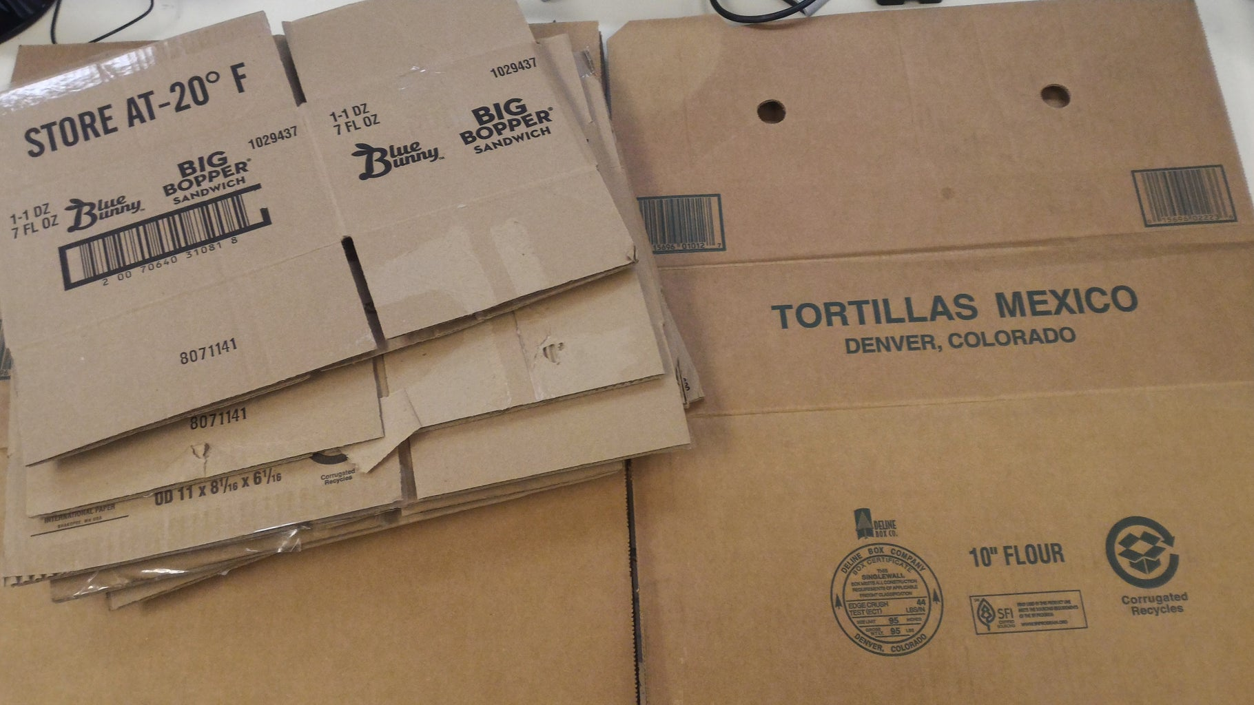 Recycle Your Own Cardboard Box