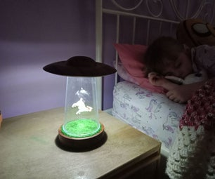 UFO Nightlight
