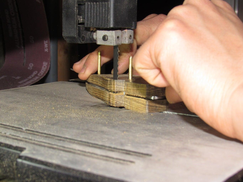 Cutting Away Extra Wood
