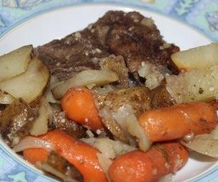 Boneless Chuck Roast Dinner