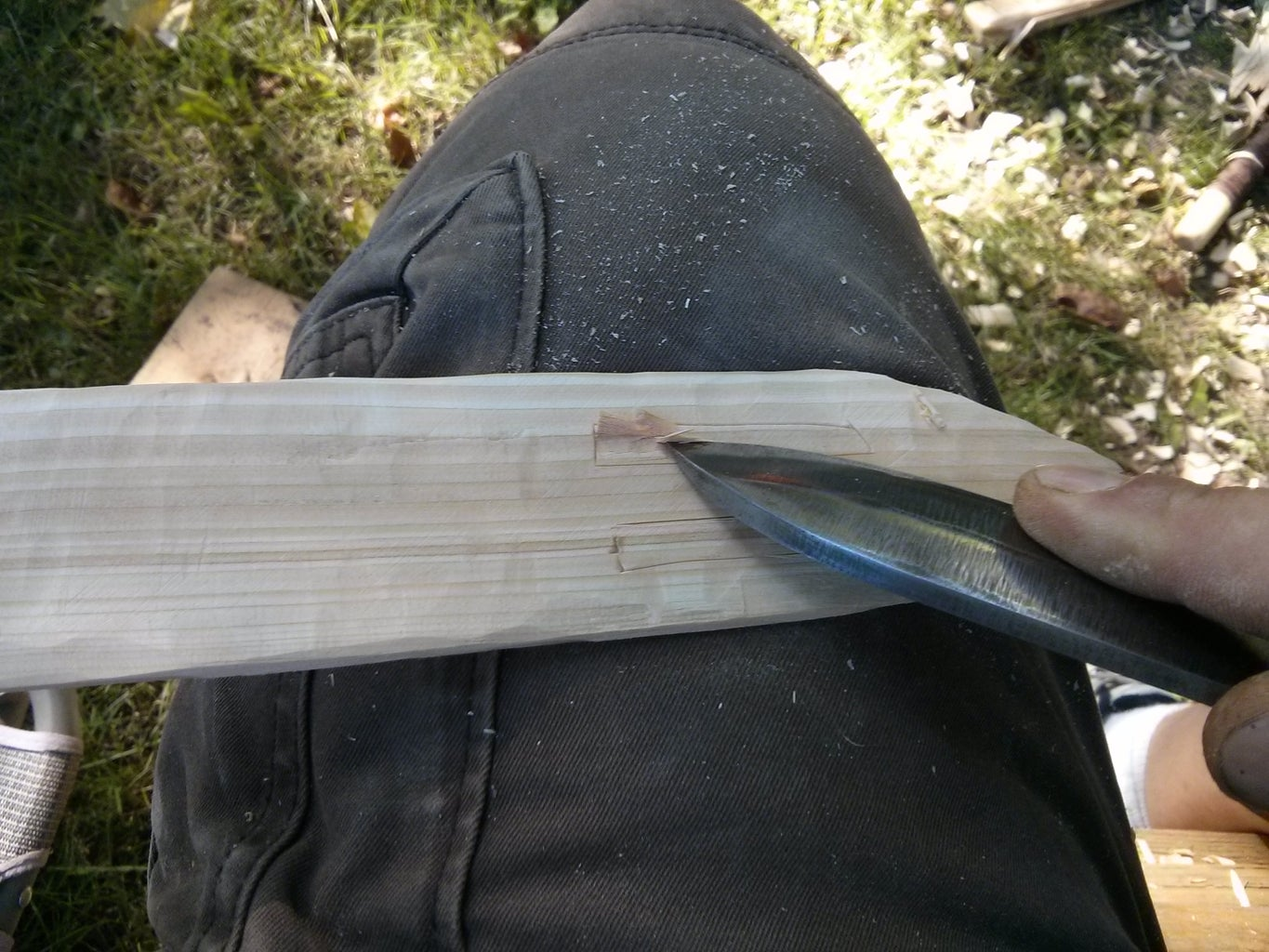 Carving the String Channel