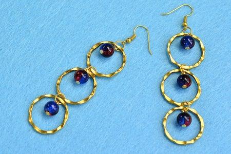 Beebeecraft Tutorials on How to Make Glass Beads Earrings