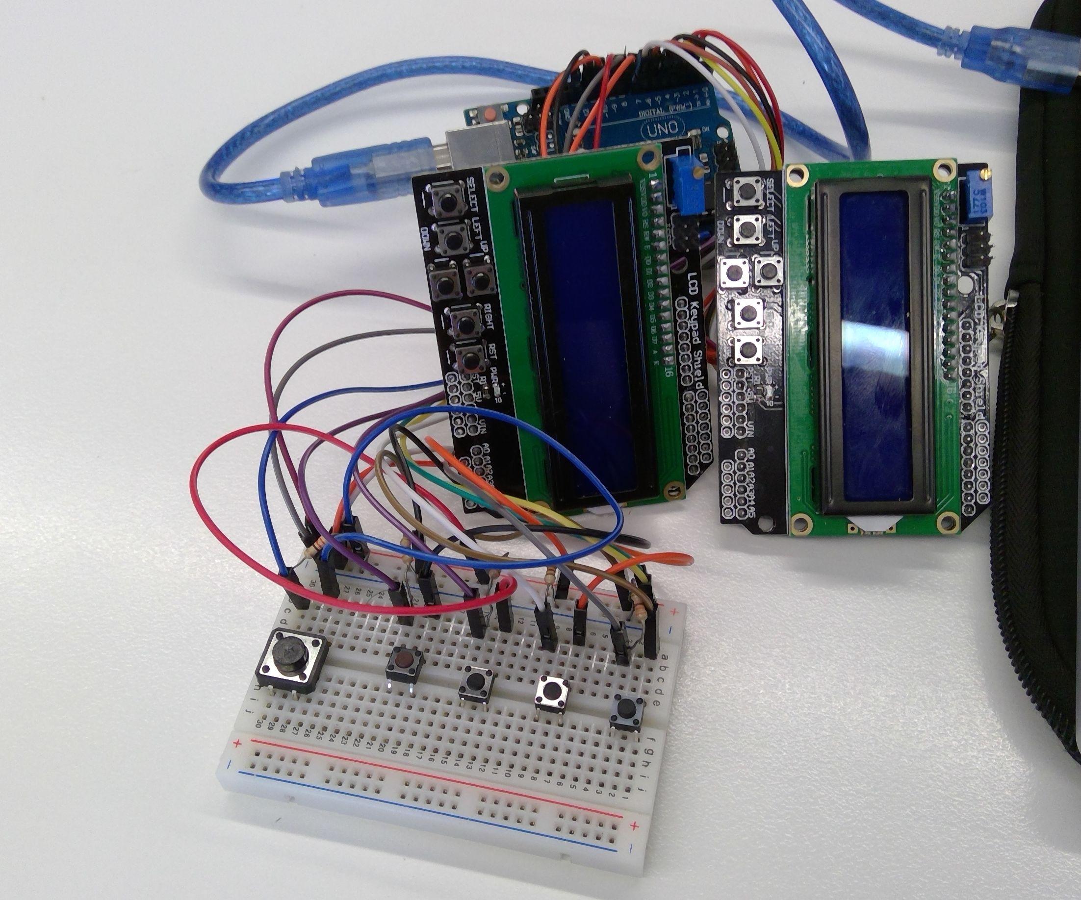 Arduino - Piano Tiles