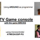 TV Game Console by Arduino