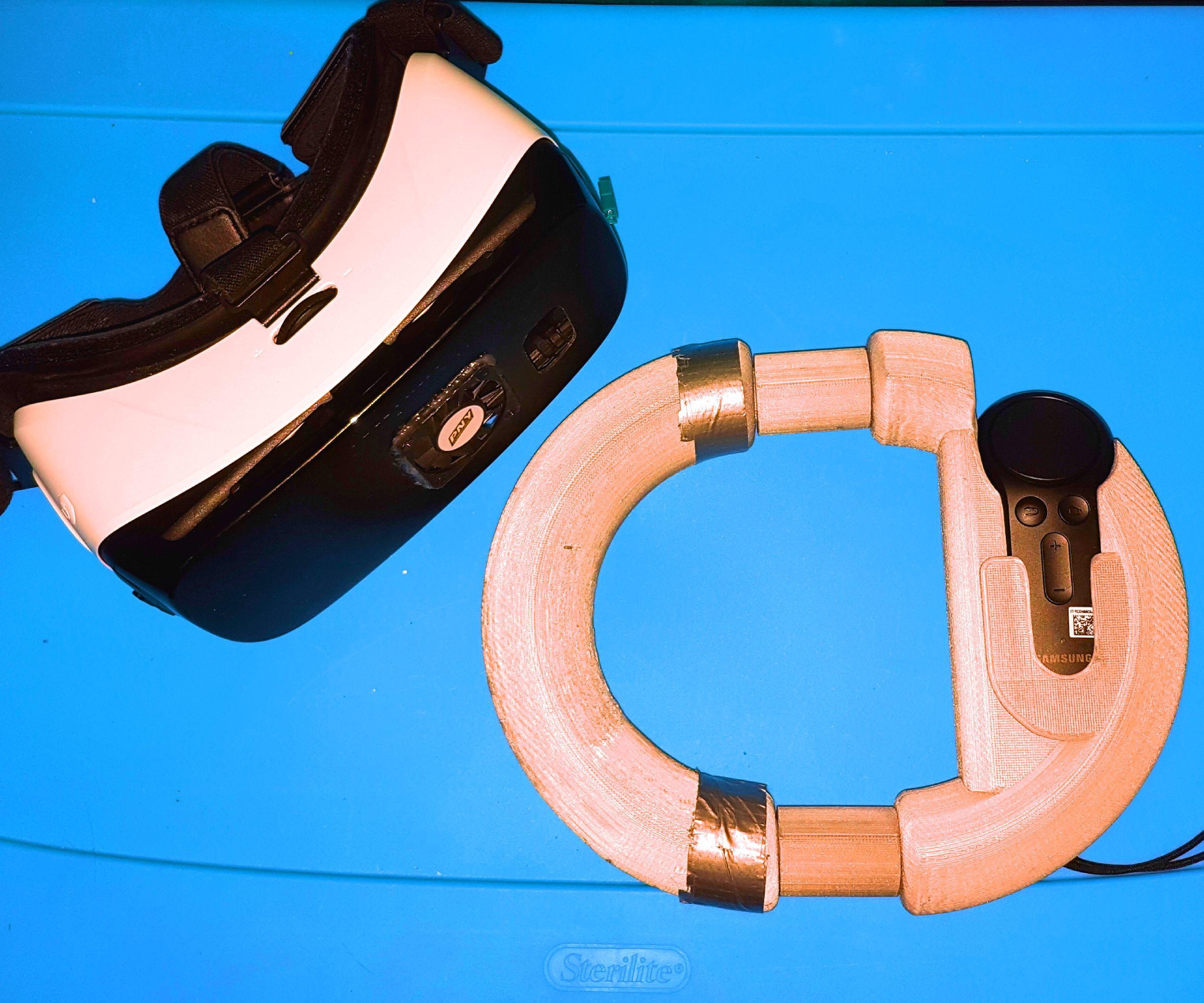 Steering Wheel for GearVR Controller