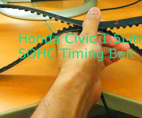 Replacing the Timing Belt (Honda Civic 1999, D15B Engine)