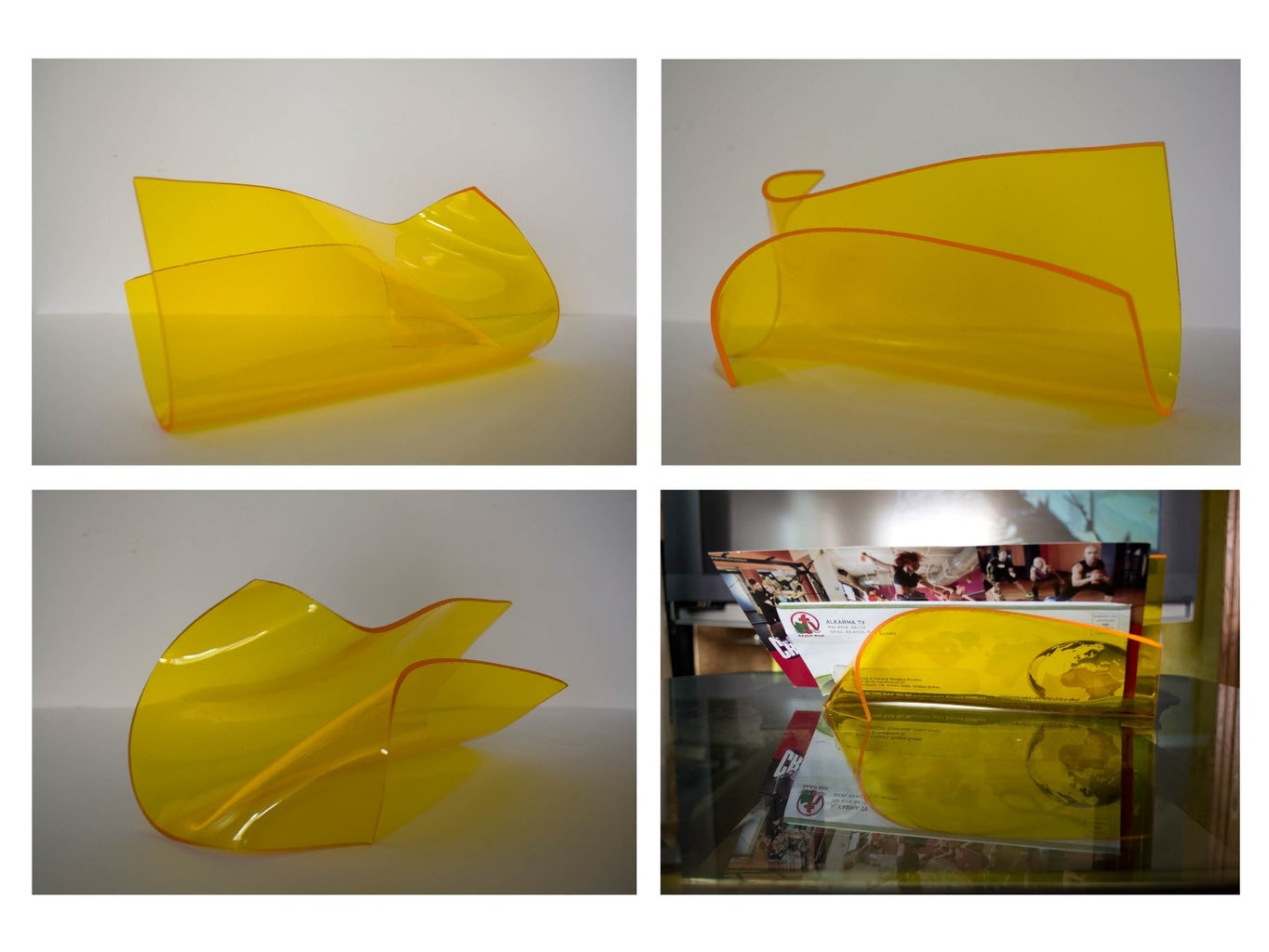 Acrylic Sculpture: a 10 Minutes Hand Project