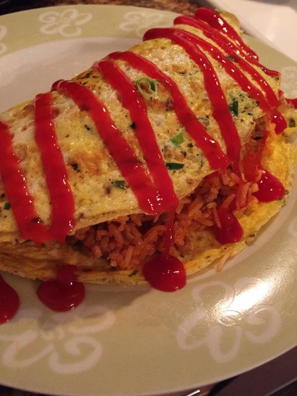 Spicy Omurice Recipe
