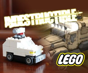 How to Build a LEGO Indestructible Shooter Truck