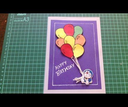 How to Make Handmade Birthday Card