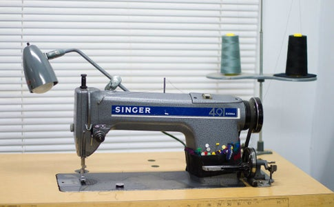 How to Thread the Singer 491D Industrial Sewing Machine