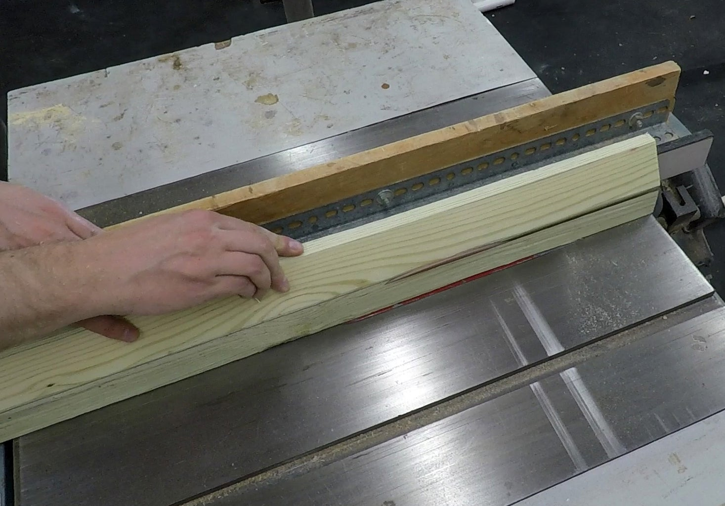 Cut and Pre-Drill the Posts