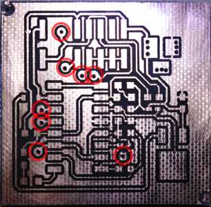 Making Double-Sided PCB With Heat Toner Transfer Paper