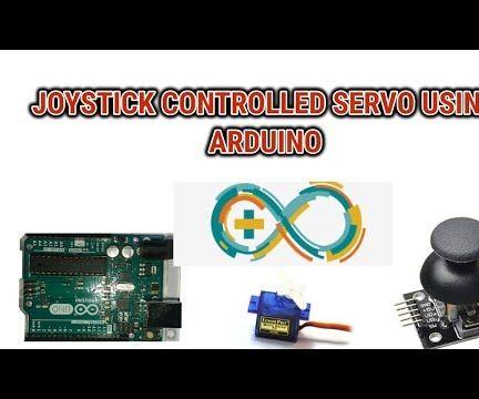 Joystick Controlled Servo Using Arduino(with Programming)
