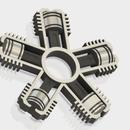 Radial Engine Fidget Spinner