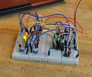 Traffic Light Without Arduino