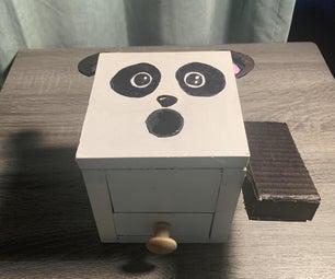 Hungry Panda Coin Box