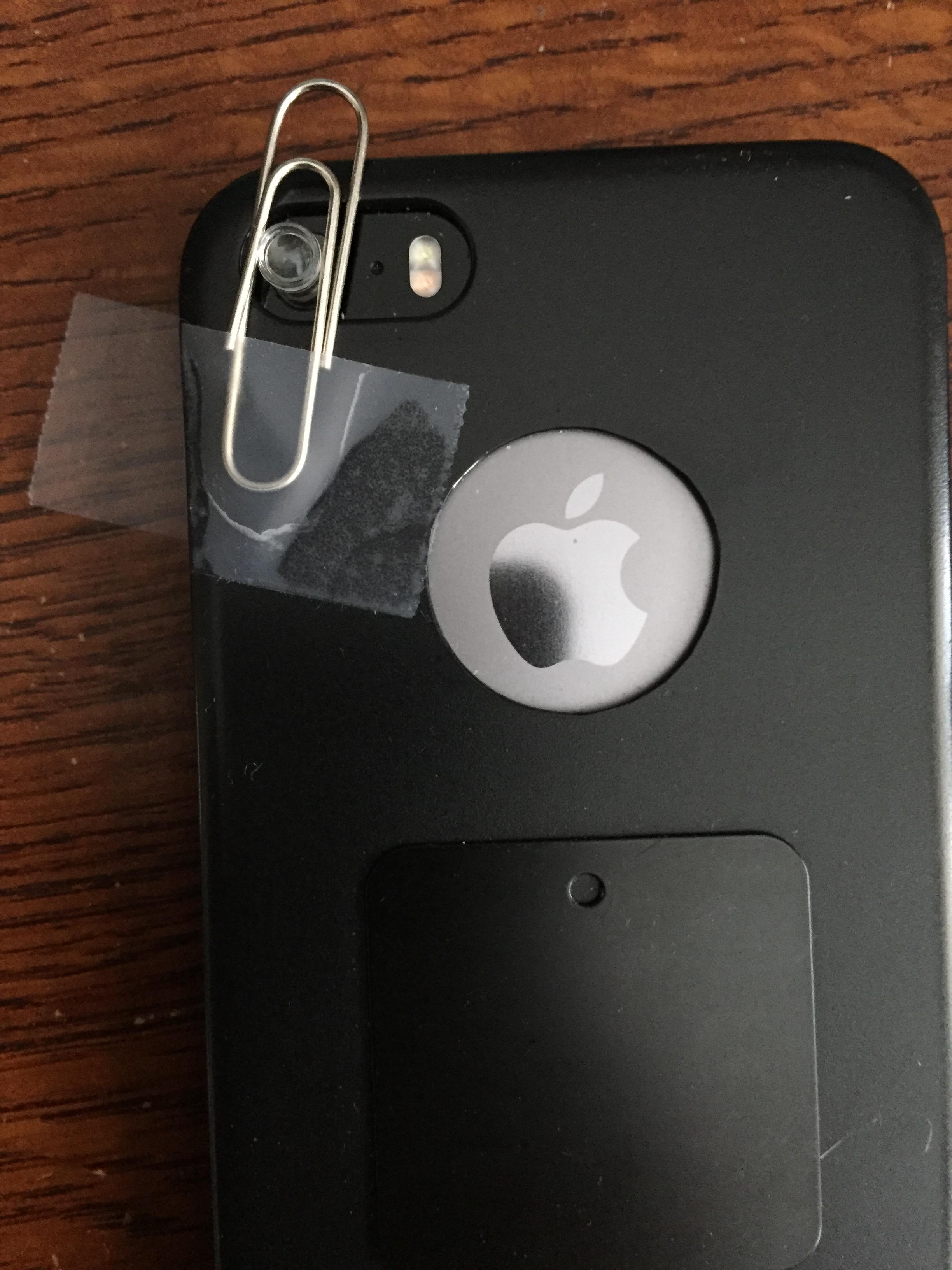 DIY IPhone Camera Microscope