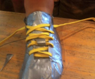 How to Make Ducktape Shoes