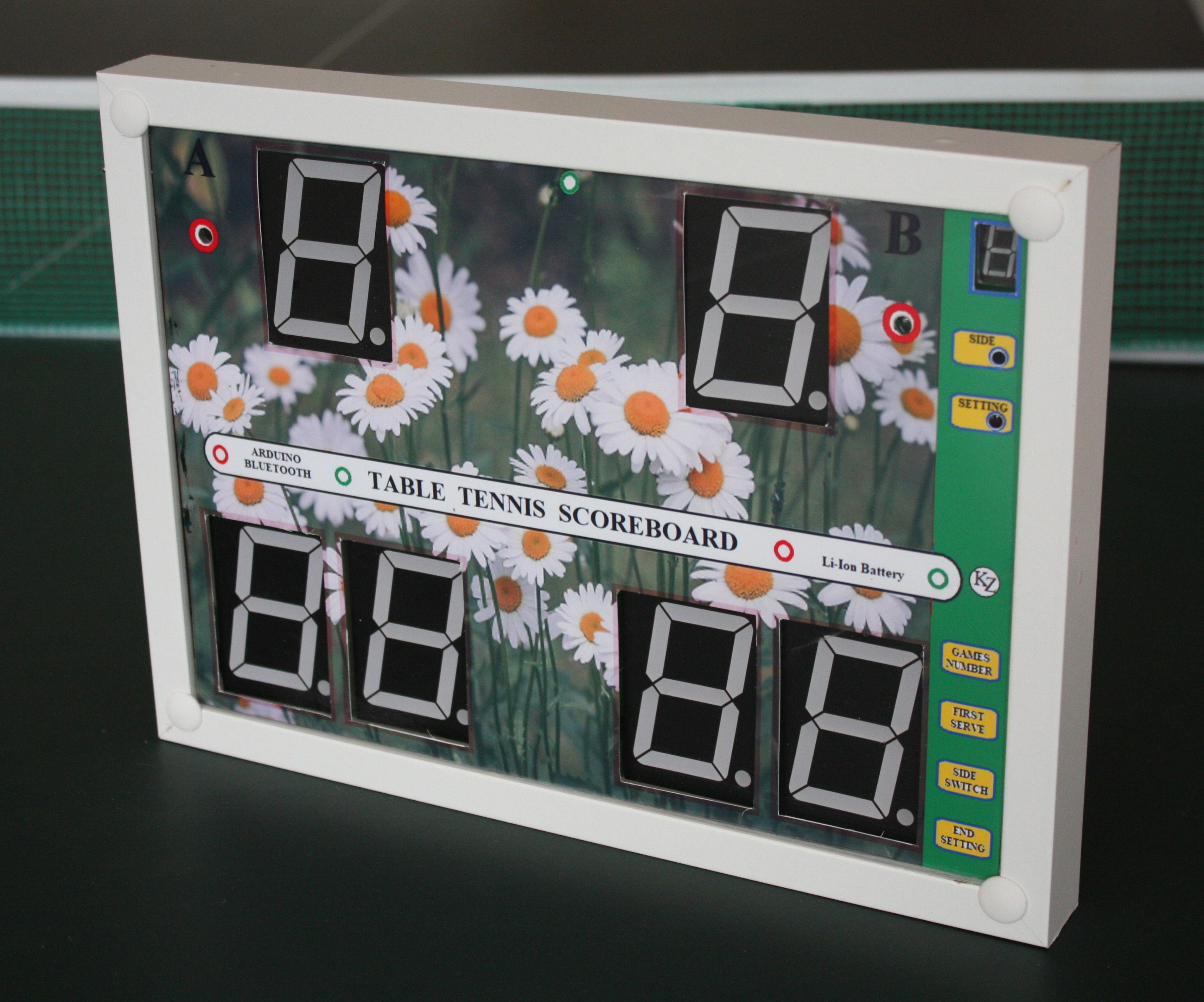 Li-ion Battery Bluetooth Scoreboard