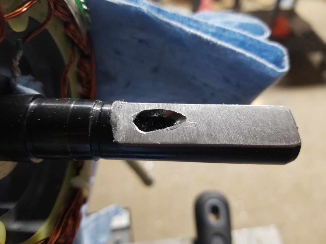 Drilling Out the Holes