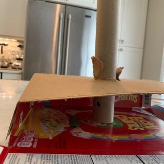 Cardboard Bug Catching Device.