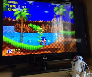 R2D2 Raspberry Pi Zero Retro Gaming Machine!