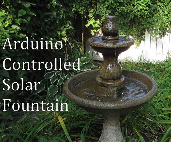 Arduino Controlled Solar Fountain