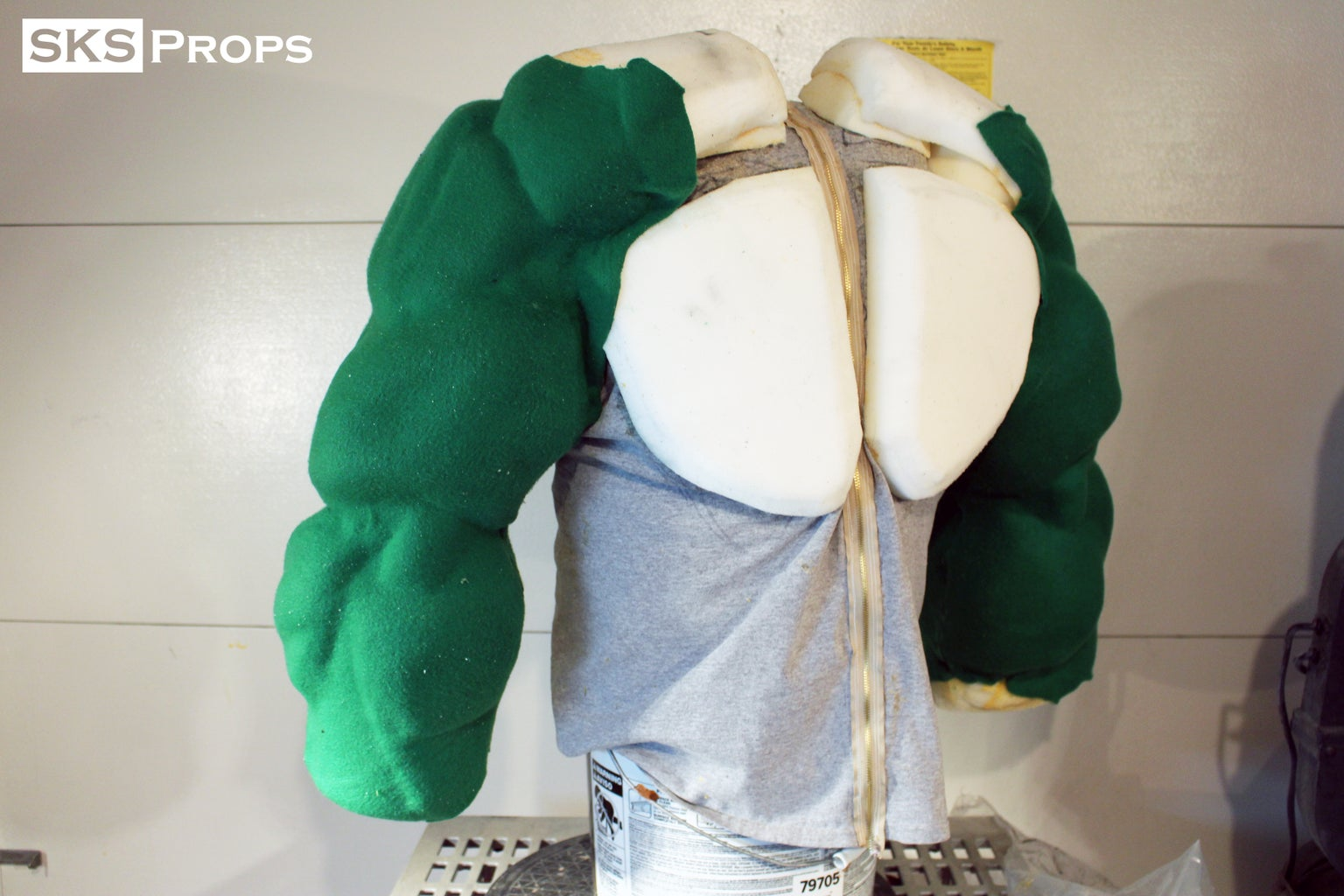 Skinning the Muscle Suit