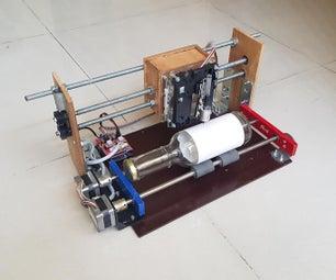 ROTARY CNC BOTTLE PLOTTER