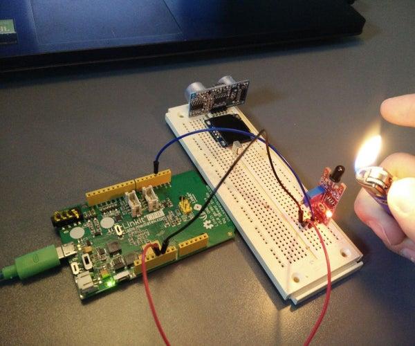 LinkIt ONE Flame Sensor