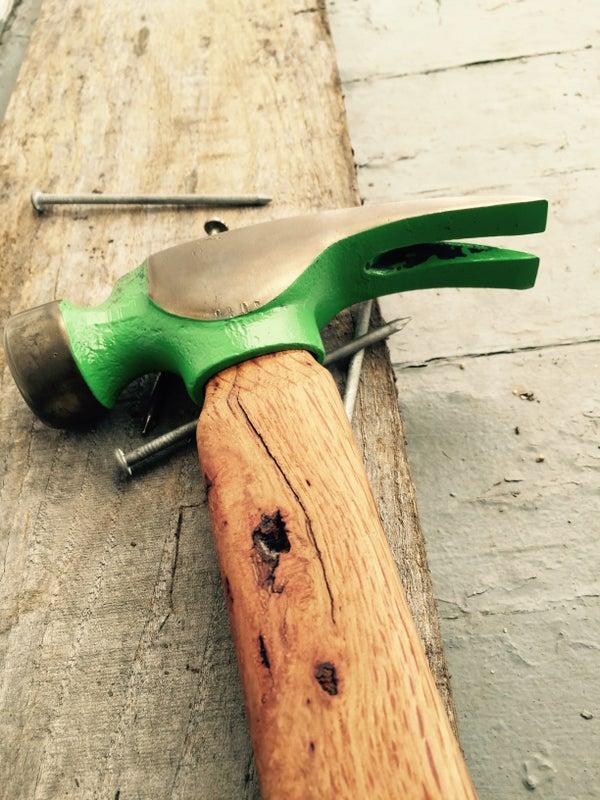 Pallet Handle Hammer Restoration