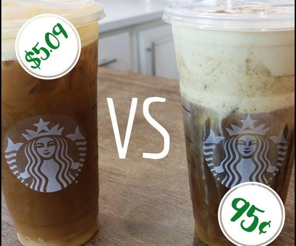 Starbucks Pumpkin Cream Cold Brew COPYCAT Recipe
