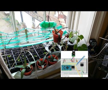 Arduino Plant Watering System - with simplest possible moisture sensors